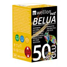 Тест-полоски на глюкозу в крови коров, кошек и собак WellionVet (50шт)
