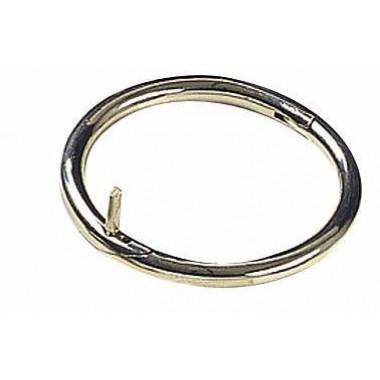 Носовое кольцо для быка, никель, 70 мм.