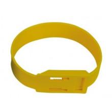 Ножная лента пластик, желтая, арт. 39019-03