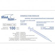 шприц 1 мл. инсулиновый