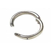 Носовое кольцо для быка, никель, 57 мм.