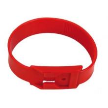 Ножная лента пластик, красная, арт. 39019-01