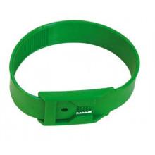 Ножная лента пластик, зеленая, арт. 39019-04